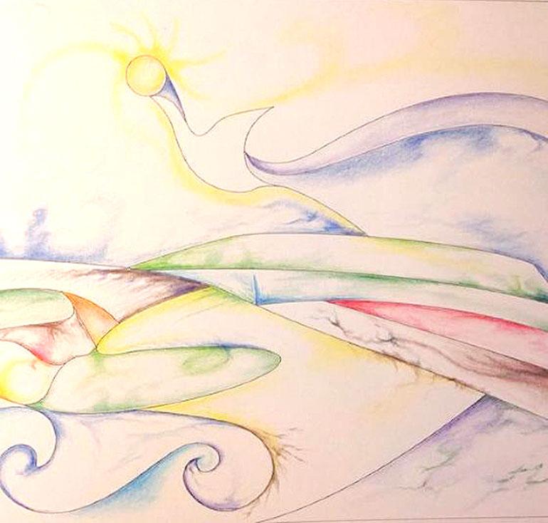Diana Ungar - Healing Hearts Coloring Book