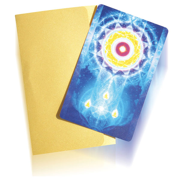 LifeParticles Energy Meditation Card