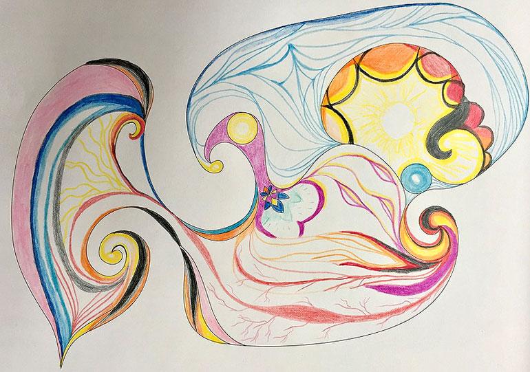 Oana Moise - Healing Hearts Coloring Book