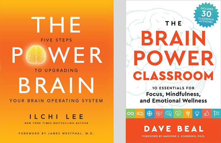 The Power Brain Classroom by Dave Beal and book by Ilchi Lee