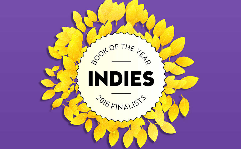 Book of the Year Indies 2016 Finalists
