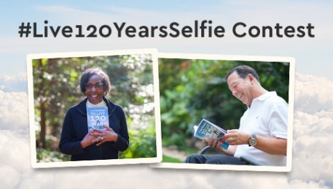 #Live120YearsSelfie Contest