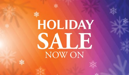 December 2017 Holiday Sale