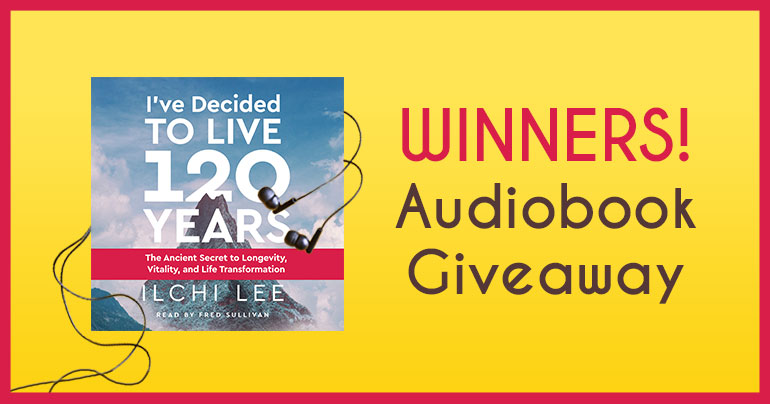 Audiobook Giveaway Winners