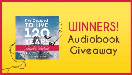 Audiobook Giveaway Winners