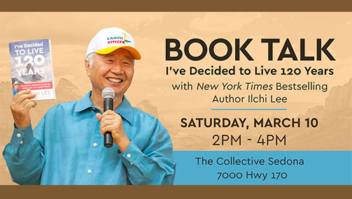 Attend Ilchi Lee's Book Talk on Longevity and Enlightened Retirement In Person or Online