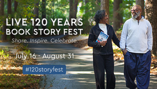 Join the Live 120 Years Book Story Fest