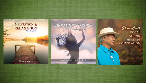 NEW Music Compilations for Healing and Relaxation