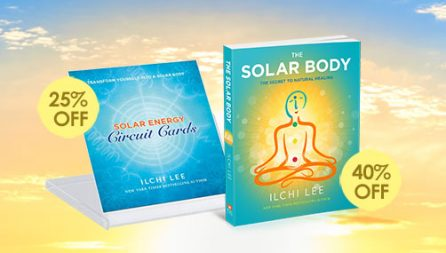 The Solar Body book and meditation cards