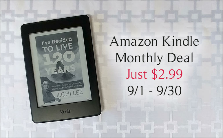 Amazon Kindle Monthly Deal for I've Decided to Live 120 Years by Ilchi Lee