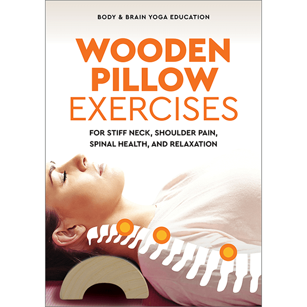 Wooden Pillow acupressure massage book